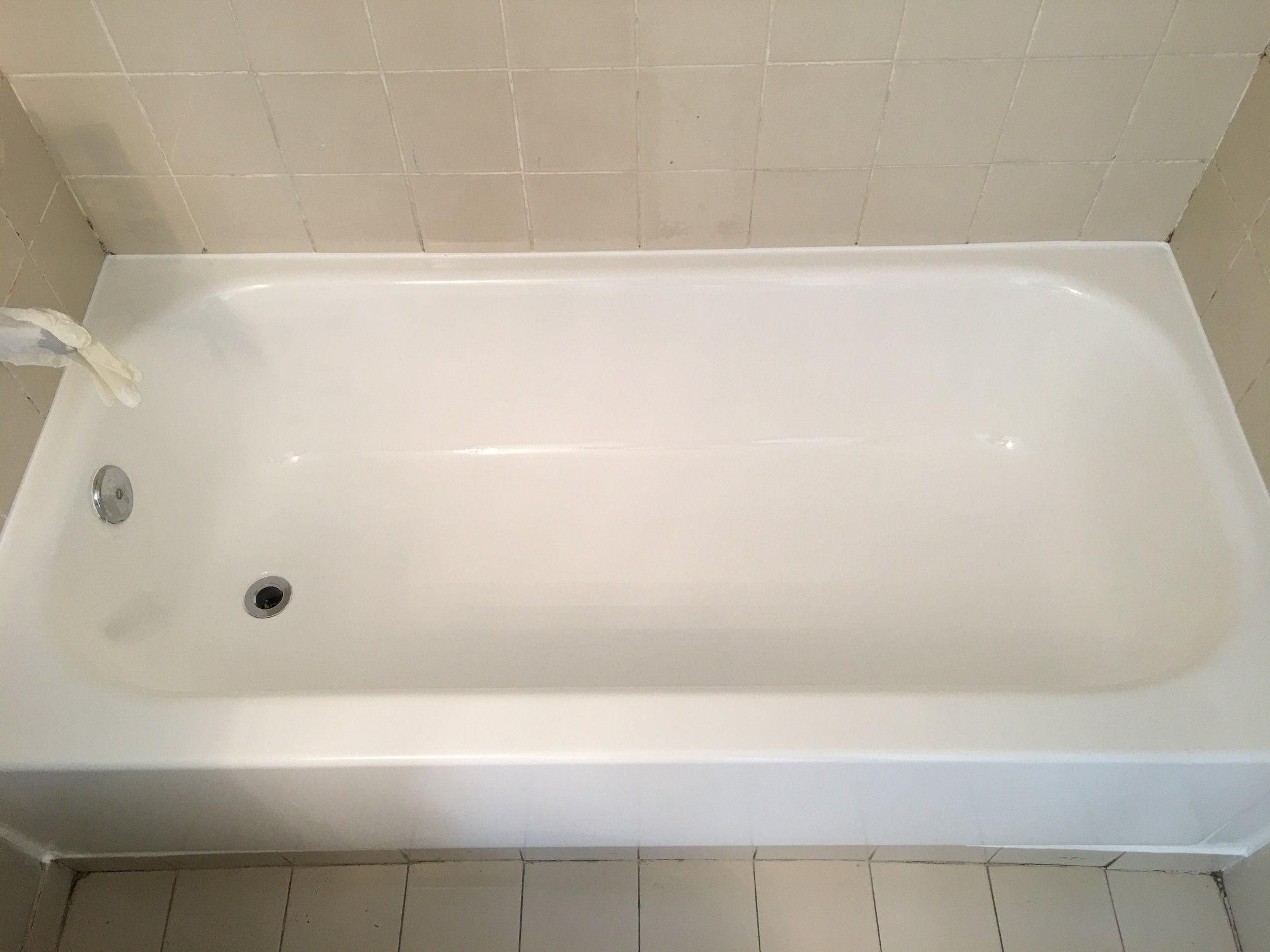 painted can repaint bathtub do hometalk q what to i a clean