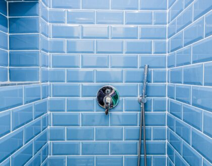 Tile Refinishing Blue