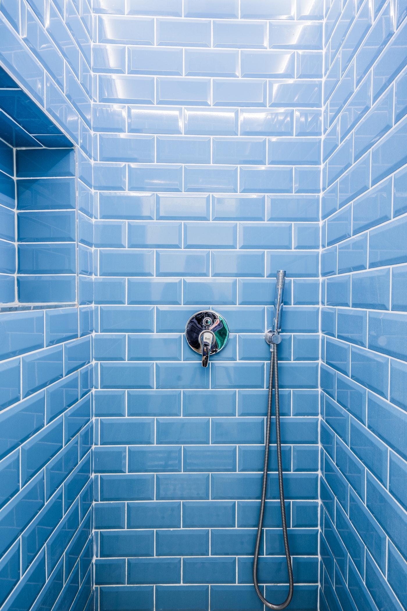 Tile Refinishing Blue